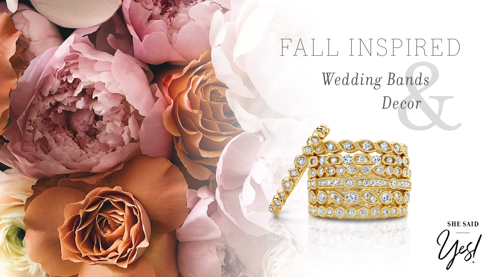 Fall Inspired Wedding Bands and Decor